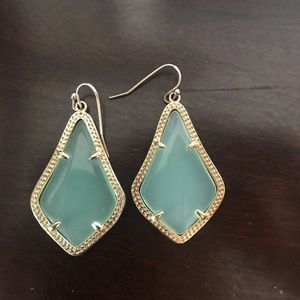 Kendra Scott Mint Iridescent Earrings